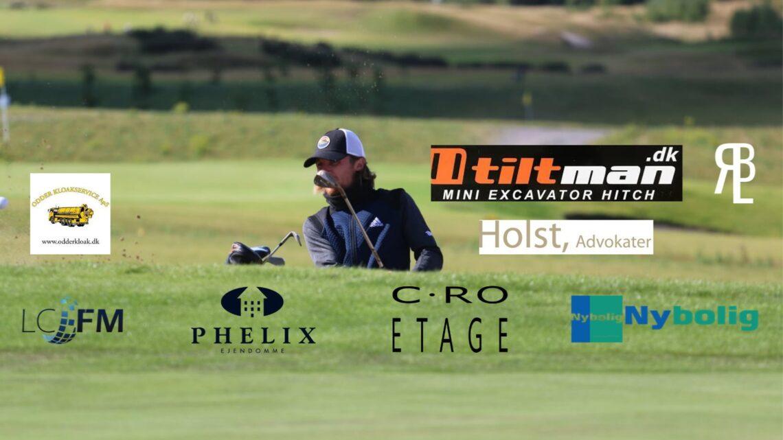 Professionel golfspiller Rasmus Broholt Lind